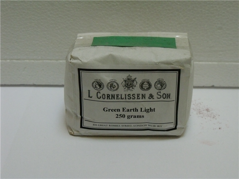 Dry Pigment Green Earth Light - 250gsm