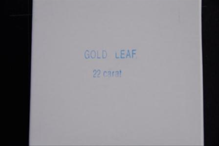 Genuine Double Gold Leaf 22ct - UK