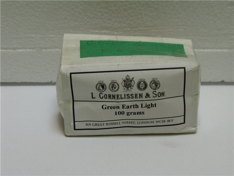 Dry Pigment Green Earth Light - 100gsm