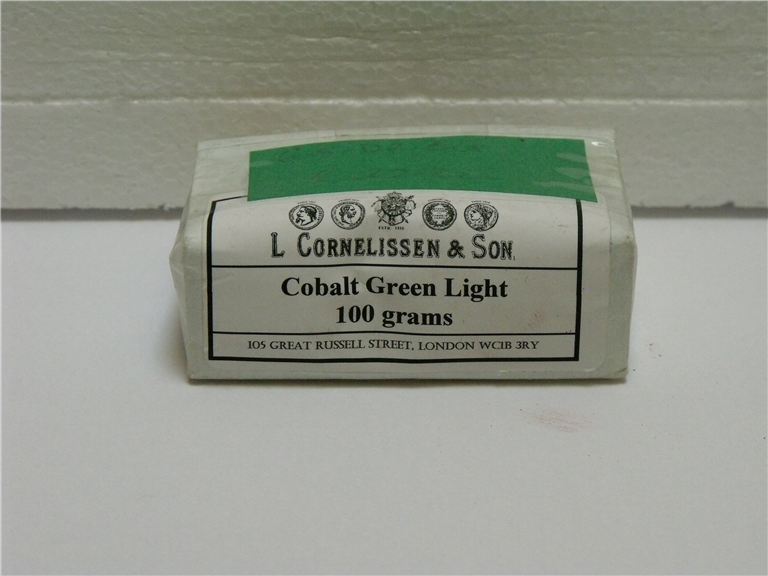 Dry Pigment Cobalt Green Light - 100gsm